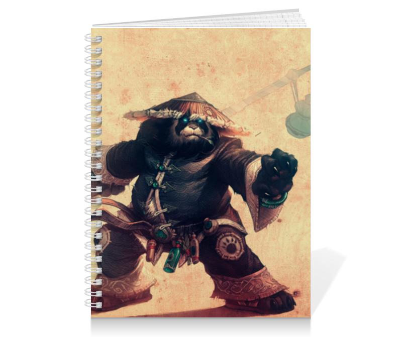 Тетрадь на пружине Printio Warcraft collection эспадрильи zenden collection zenden collection ze012agpre18