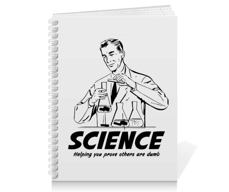 Тетрадь на пружине Printio Наука отсутствует наука и жизнь 08 2014