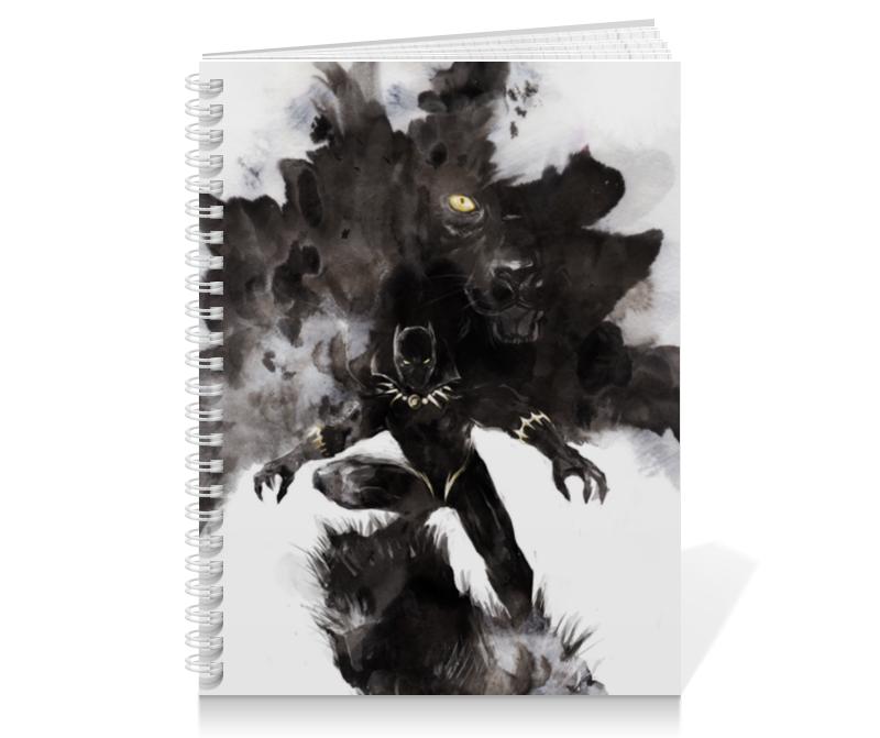 Тетрадь на пружине Printio Черная пантера сумка printio черная пантера