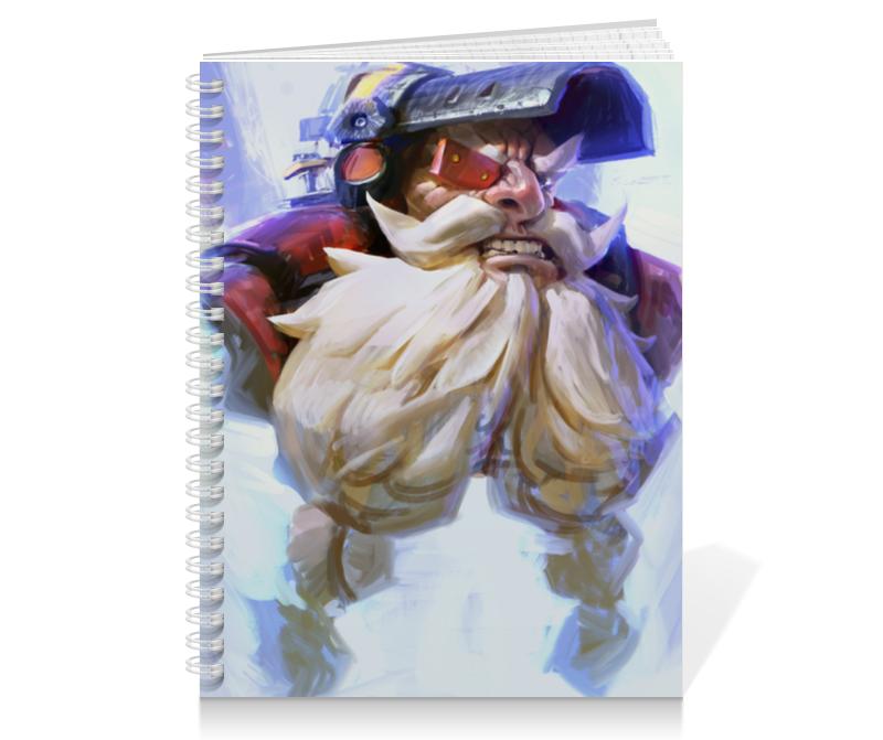 Тетрадь на пружине Printio Торбьорн тетрадь на пружине printio тетрадь аниме