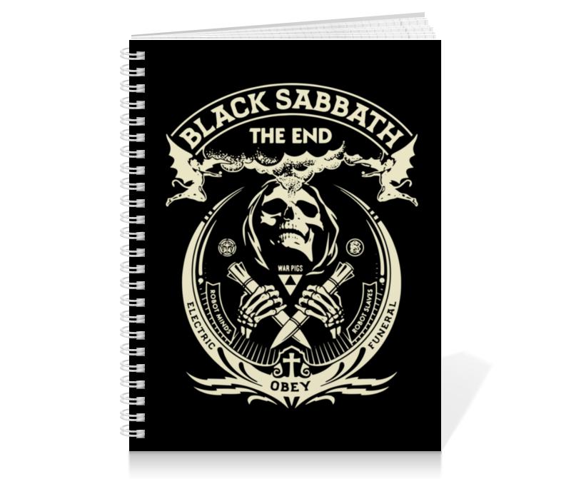 Тетрадь на пружине Printio Black sabbath mst726c lf