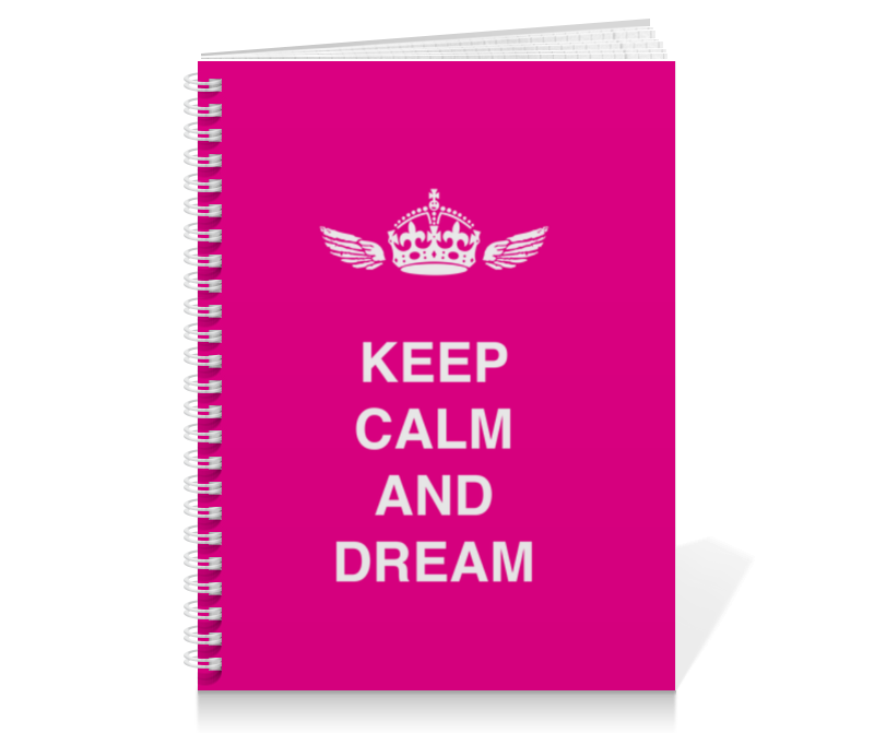 Printio Keep calm and dream цена