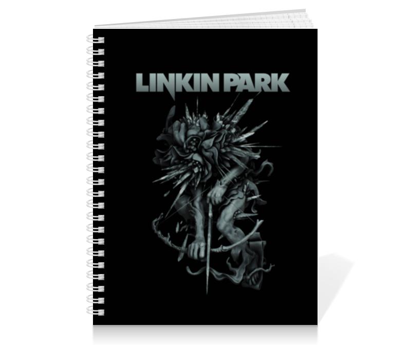 Тетрадь на пружине Printio Linkin park тетрадь на пружине printio тетрадь аниме