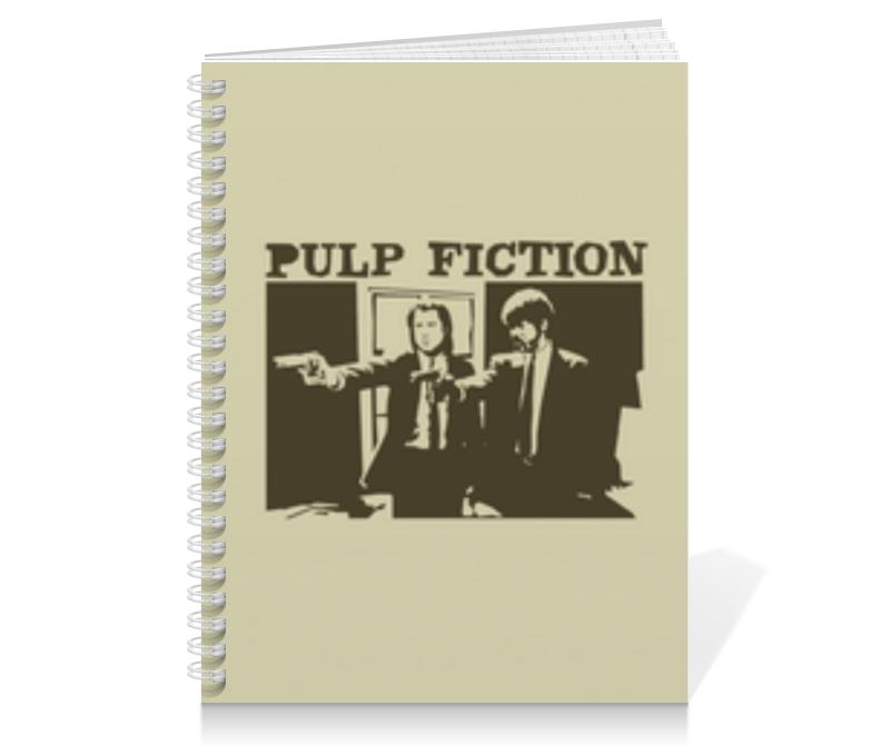 Тетрадь на пружине Printio Pulp fiction тетрадь на клею printio pulp fiction сэмюэл джексон