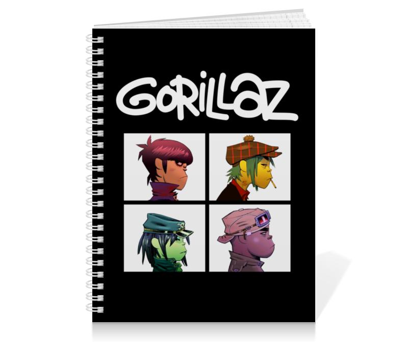 Printio Gorillaz обложка для паспорта printio gorillaz
