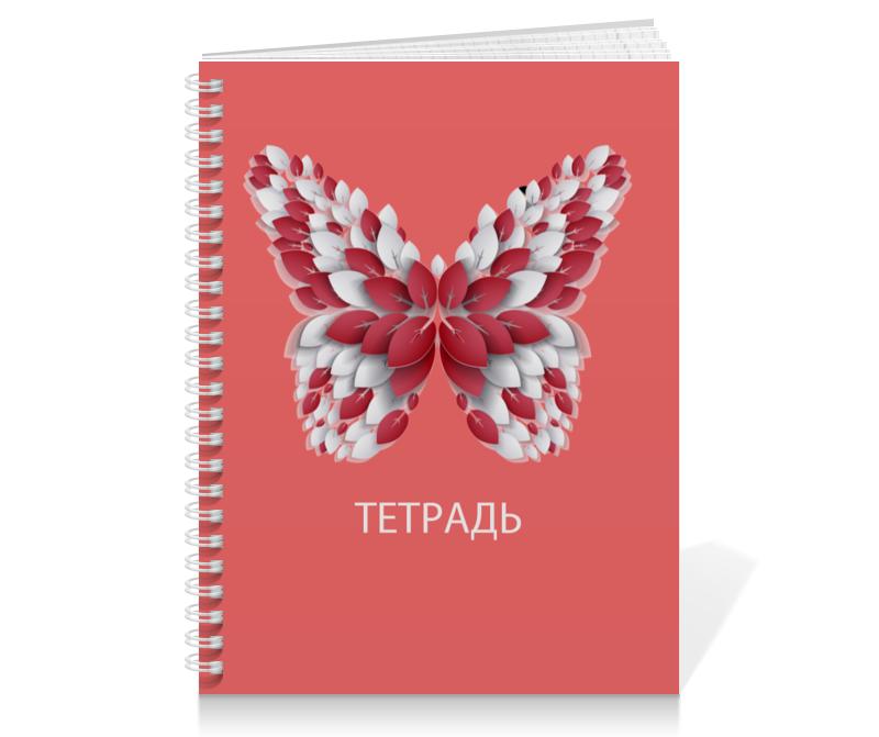 Тетрадь на пружине Printio Бабочка бабочки magnetiq галстук бабочка