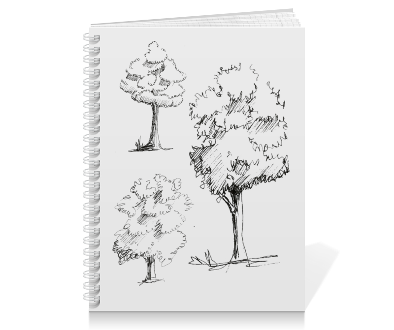 Тетрадь на пружине Printio Сказочный лес лесик е сказочный лес isbn 9785170952458