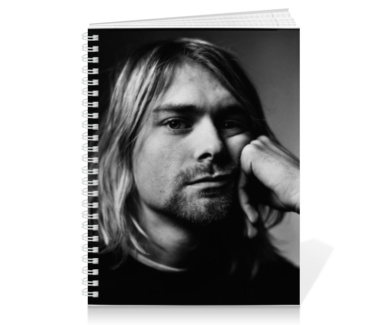 Тетрадь на пружине Printio Kurt cobain сумка printio kurt cobain sounds