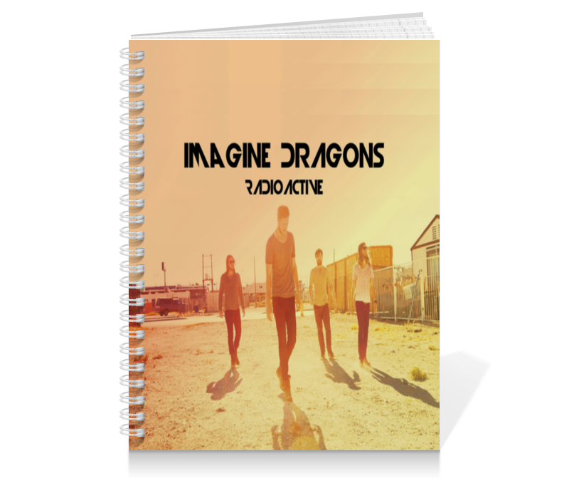 Тетрадь на пружине Printio Imagine dragons обложка для паспорта printio imagine dragons