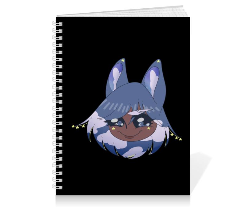 Тетрадь на пружине Printio Блокнот с оригинальным персонажем хириша визз блокнот printio кошка