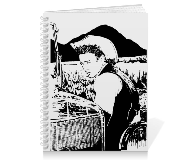 Тетрадь на пружине Printio James dean джеймс дин giant мультимедия на фольцваген джетта