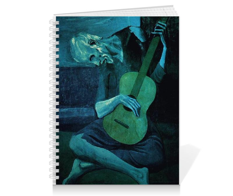 Тетрадь на пружине Printio Пикассо гитарист цена