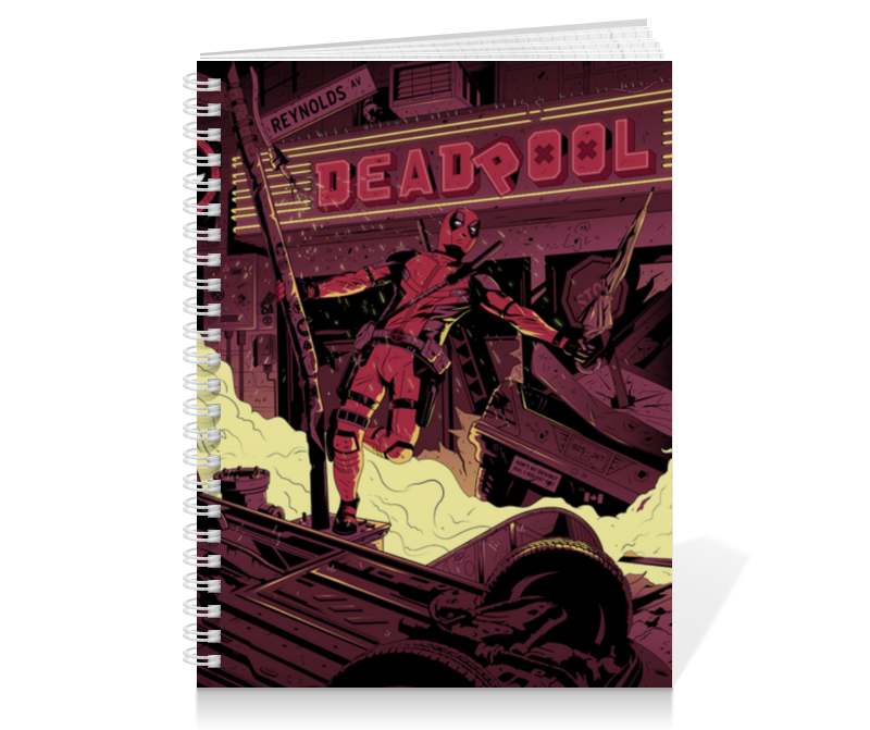 Printio Дэдпул (deadpool) тетрадь на пружине printio дэдпул deadpool