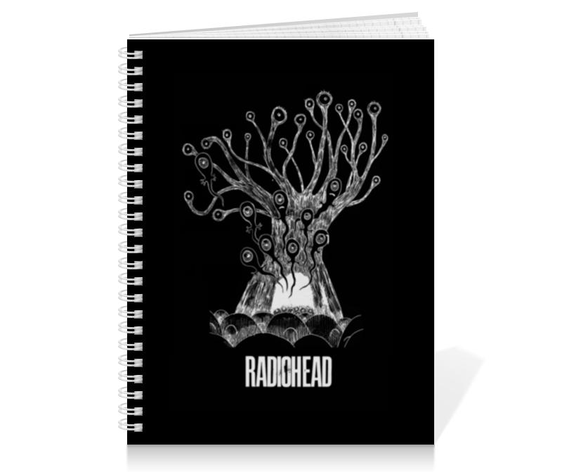 Тетрадь на пружине Printio Radiohead cd из японии radiohead