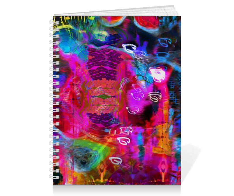 Тетрадь на пружине Printio Abstract raster 372
