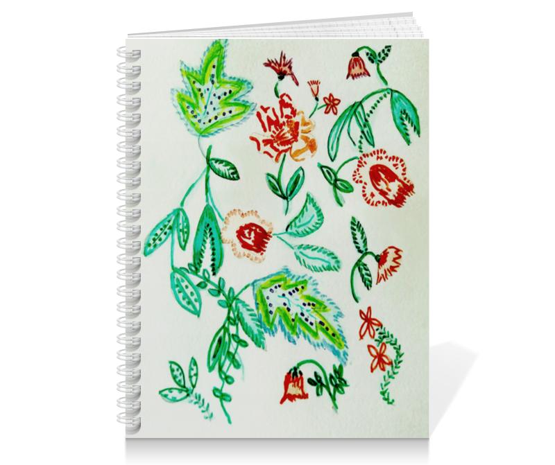 Тетрадь на пружине Printio Дикие цветы тетрадь на пружине printio осенние цветы