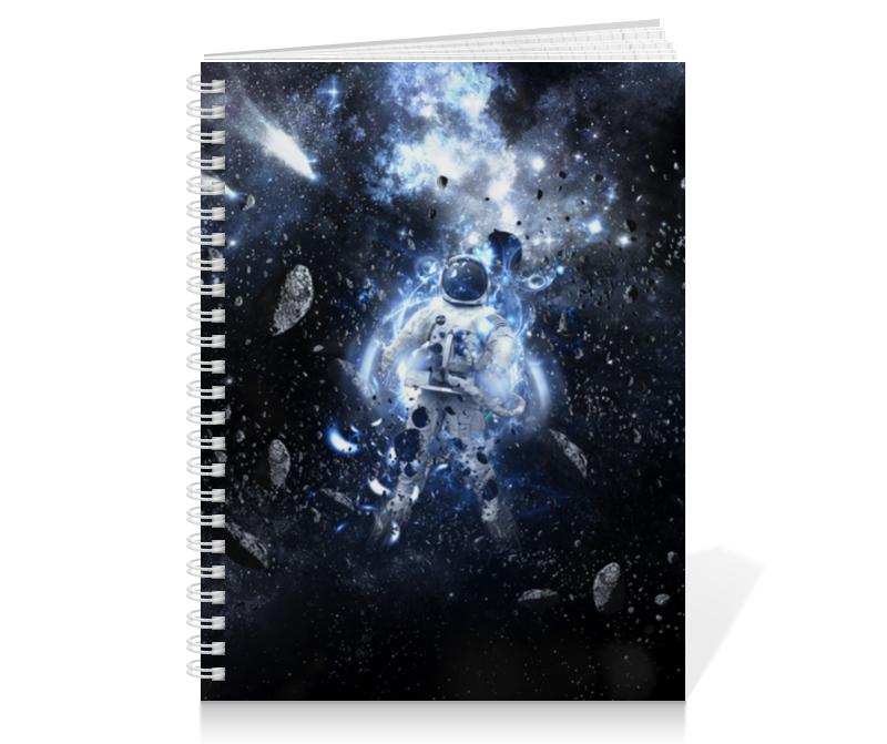 Тетрадь на пружине Printio Астронавт тетрадь на пружине printio тетрадь аниме
