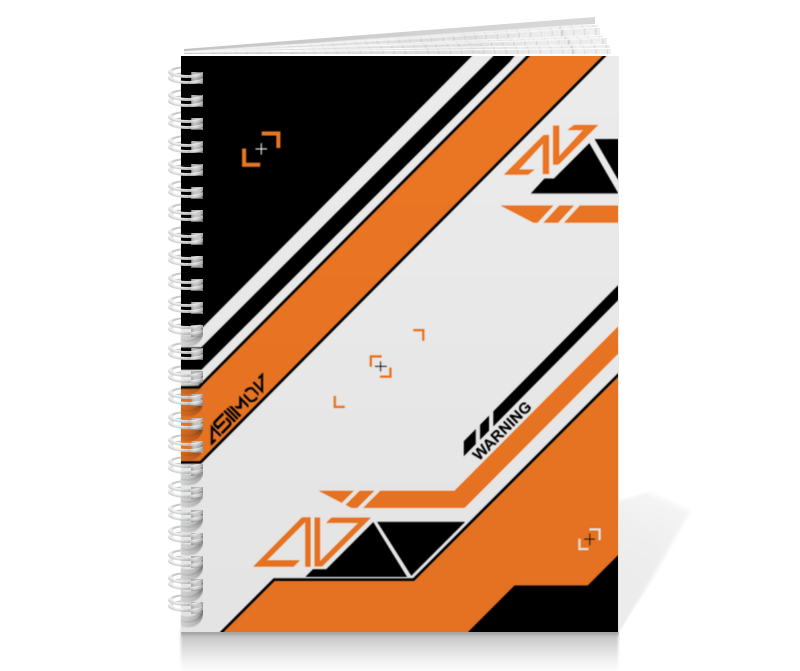 Тетрадь на пружине Printio Azimov худи print bar cs go asiimov black