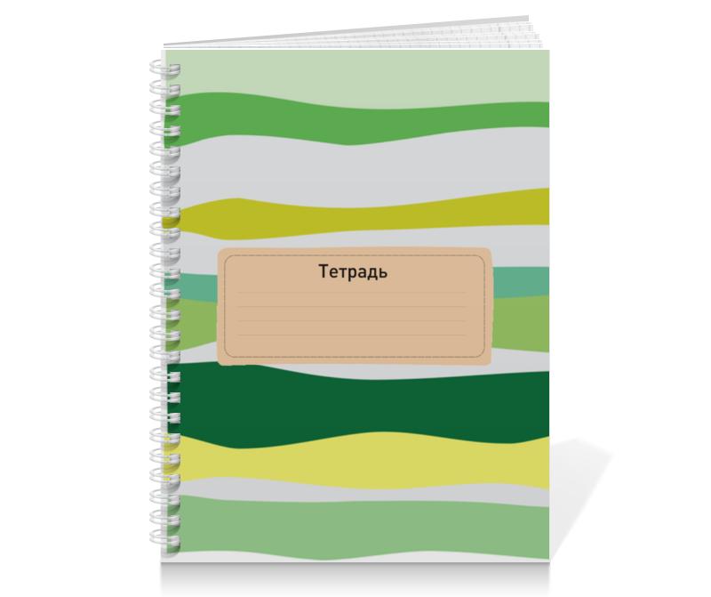 Тетрадь на пружине Printio Тропическая волна тетрадь на пружине printio тетрадь аниме