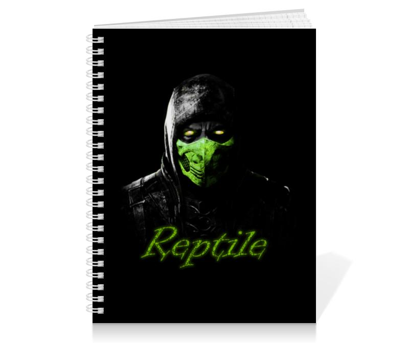 Тетрадь на пружине Printio Reptile тетрадь на пружине printio one direction