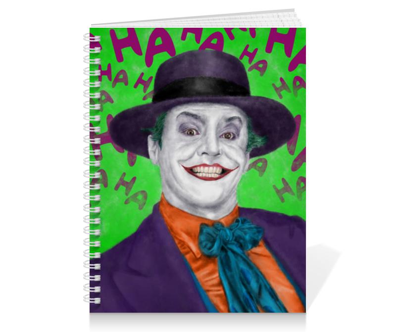 Тетрадь на пружине Printio Джокер тетрадь на пружине printio николай гоголь портрет работы фёдора моллера