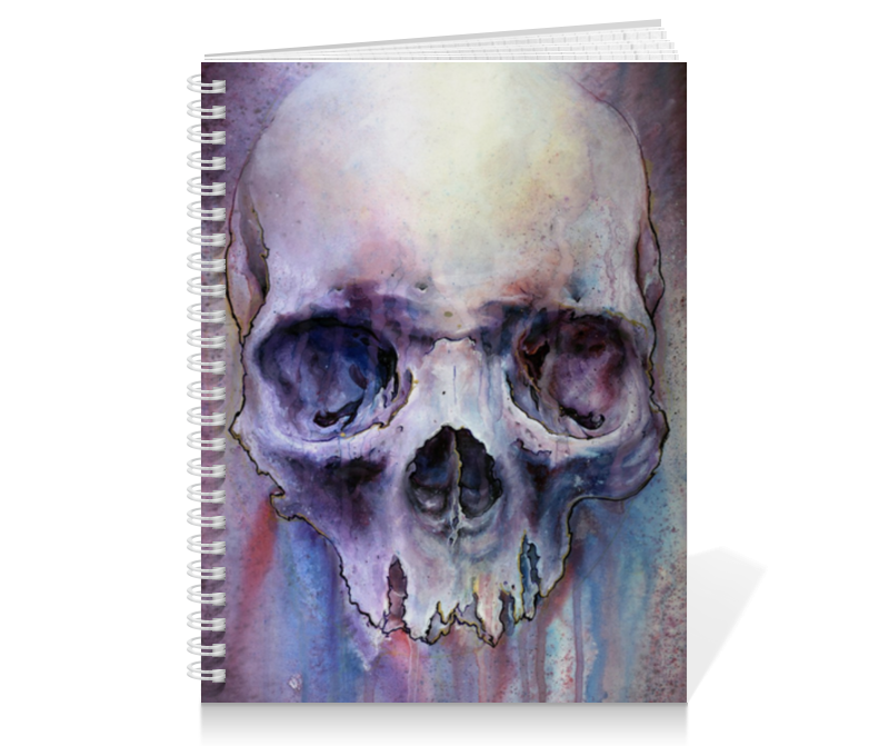 Тетрадь на пружине Printio Paint skull range 30s to 100s paint liquid viscometer with flow cup paint meter