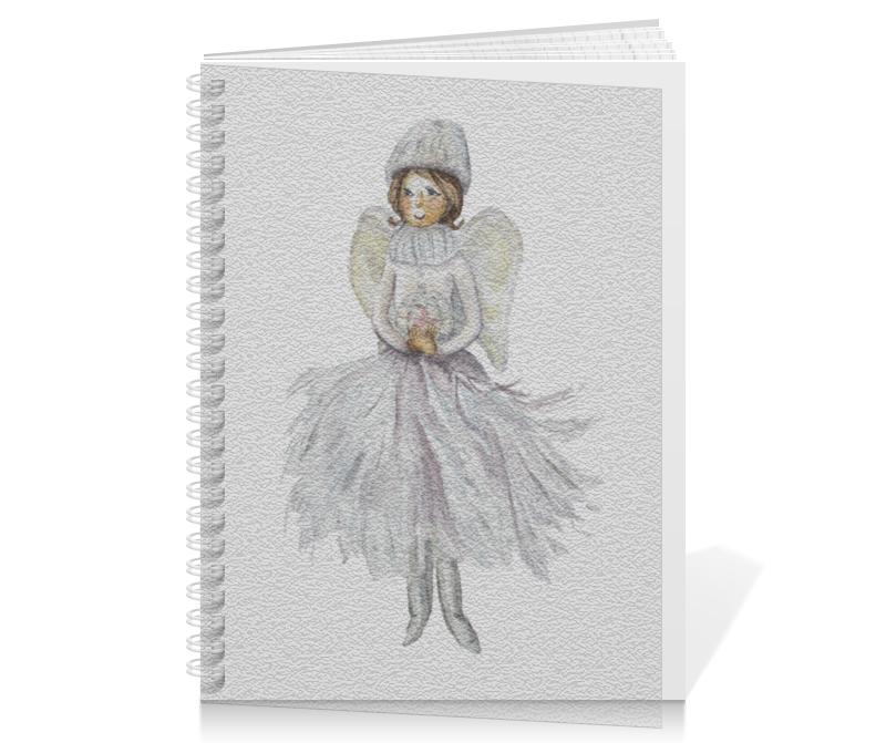Тетрадь на пружине Printio Снежный ангел тетрадь на пружине printio снежный ангел