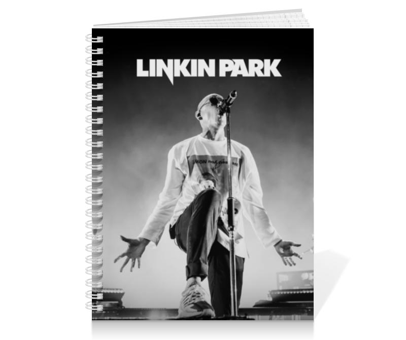 Тетрадь на пружине Printio Linkin park