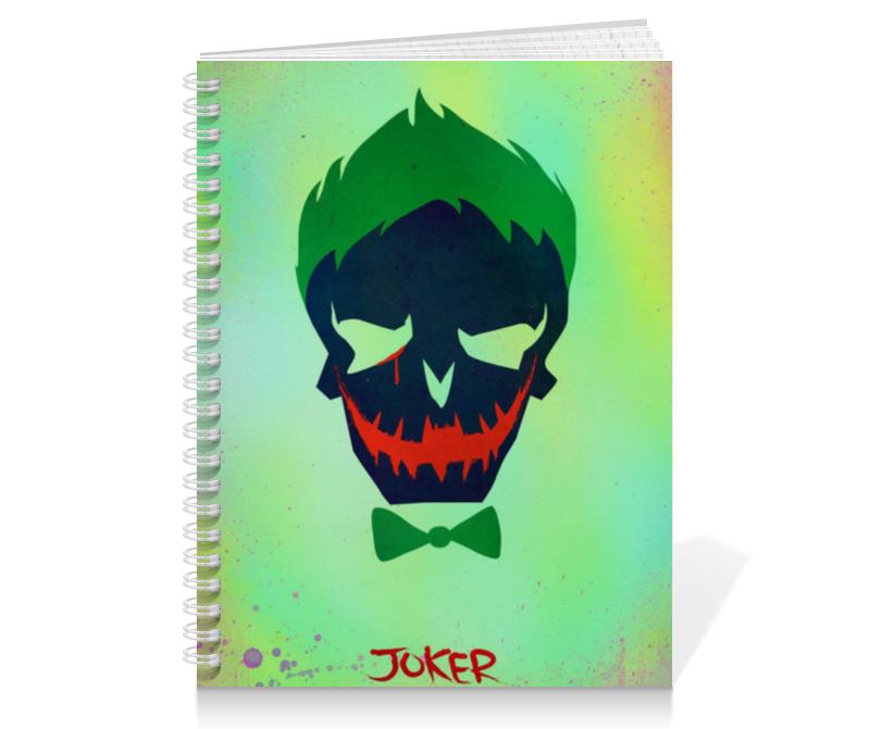 Тетрадь на пружине Printio Джокер тетрадь на пружине printio тетрадь аниме
