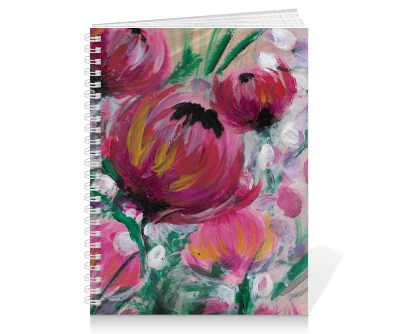 Тетрадь на пружине Printio Полевые цветы тетрадь на пружине printio осенние цветы