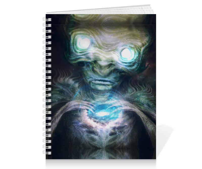 Тетрадь на пружине Printio Космический разум тетрадь на пружине printio тетрадь аниме
