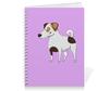 """Тетрадь на пружине """"ДЖЕК РАССЕЛ.СОБАКА"""" - майкл джексон, щенок, собака, животное, рассел"""