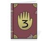 "Тетрадь на пружине ""Journal 3 - Gravity Falls"" - gravity falls, мэйбл пайнс, journal 3, диппера"