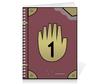 """Тетрадь на пружине """"Journal 1 - Gravity Falls"""" - gravity falls, гравити фолз, journal 1"""