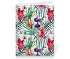 """Тетрадь на пружине """"Тропические цветы"""" - милый, лето, пальма, орхидея, женственно"""