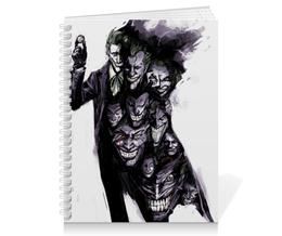 """Тетрадь на пружине """"Джокер"""" - joker, комиксы, batman, джокер, dc comics"""