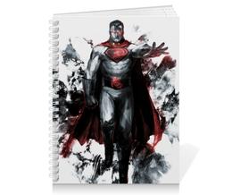 """Тетрадь на пружине """"Красный сын"""" - комиксы, superman, супермэн, dc comics, супс"""
