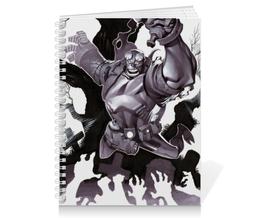 "Тетрадь на пружине ""Хеллбой"" - комиксы, демон, хеллбой, hellbo, dark horse comcis"