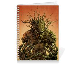 """Тетрадь на пружине """"Грут (Groot)"""" - комиксы, марвел, стражи галактики, грут, guardians of the galaxy"""