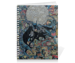"Тетрадь на пружине ""Бэтмен"" - комиксы, dc, dc comics, batman vs superman, бэтс"