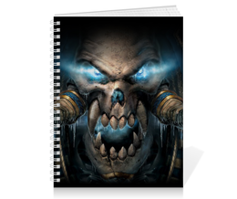 """Тетрадь на пружине """"WarCraft Collection"""" - wow, warcraft, world of warcraft, варкрафт, нежить"""