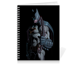 "Тетрадь на пружине ""Бэтмен"" - комиксы, бэтмен, dc, dc comics, batman"
