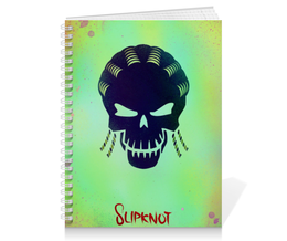 "Тетрадь на пружине ""Slipknot"" - комиксы, dc comics, отряд самоубийц, suicide squad, слипнот"