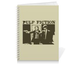 """Тетрадь на пружине """"Pulp Fiction"""" - кино, фильм, тарантино, криминальное чтиво, pulp fiction"""