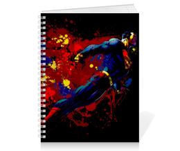 "Тетрадь на пружине ""Супермен (Superman)"" - superman, супермэн, dc, dc comics, кларк кент"