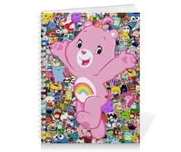 """Тетрадь на пружине """"Cheer Bear"""" - cartoon, cheer bear"""