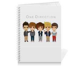 "Тетрадь на пружине ""One Direction  "" - one direction, гарри стайлс, лиам пейн"
