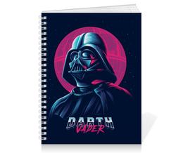 "Тетрадь на пружине ""Дарт Вейдер (Darth Vader) "" - star wars, darth vader, звездные войны, стар варс"