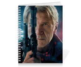"""Тетрадь на пружине """"Звездные войны - Хан Соло"""" - кино, фантастика, star wars, звездные войны, дарт вейдер"""