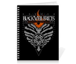 """Тетрадь на пружине """"Black Veil Brides"""" - black veil brides, музыка, группы, рок, метал"""
